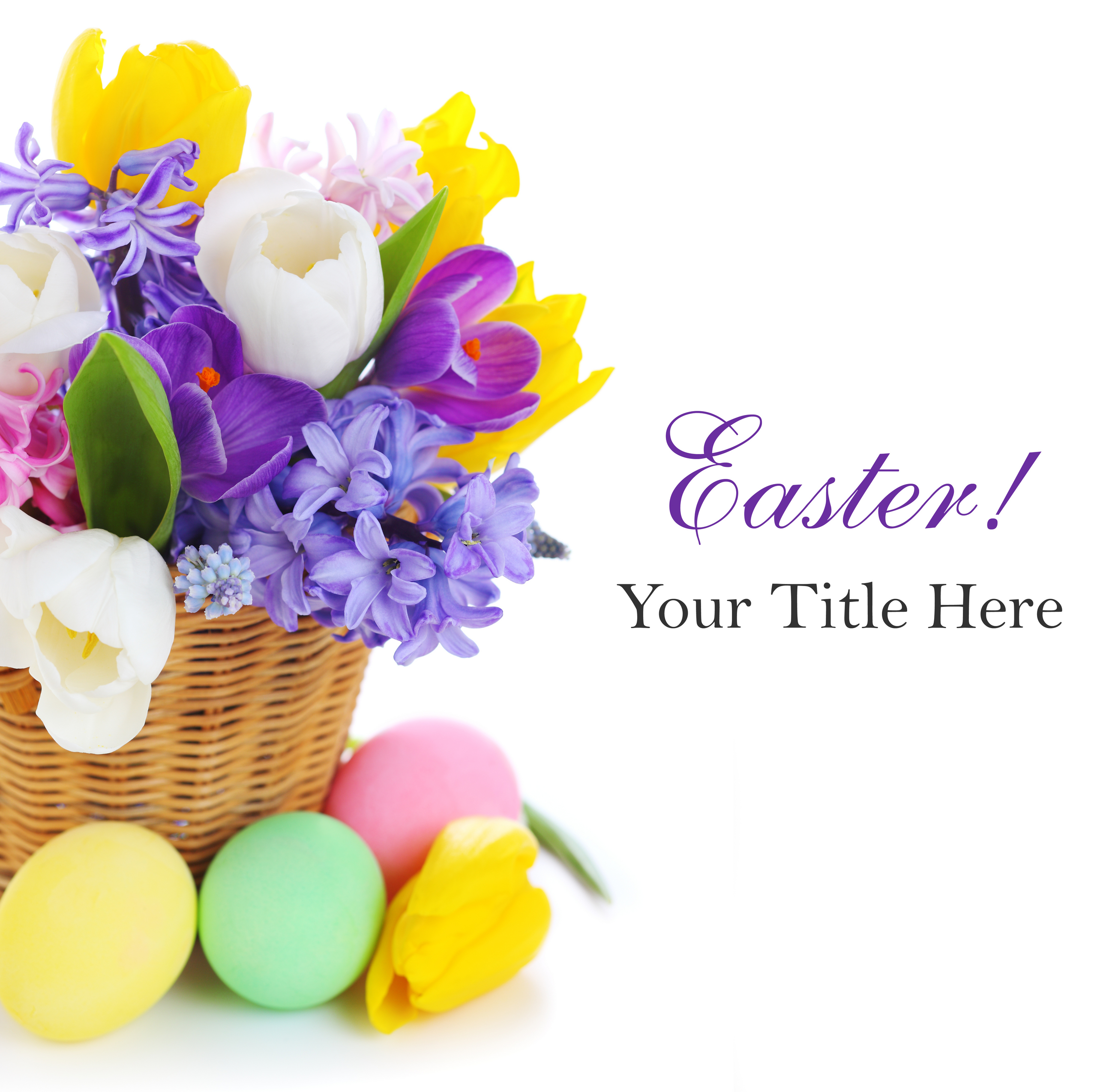 Easter images Easter greeting card HD wallpaper and background 2560x2547