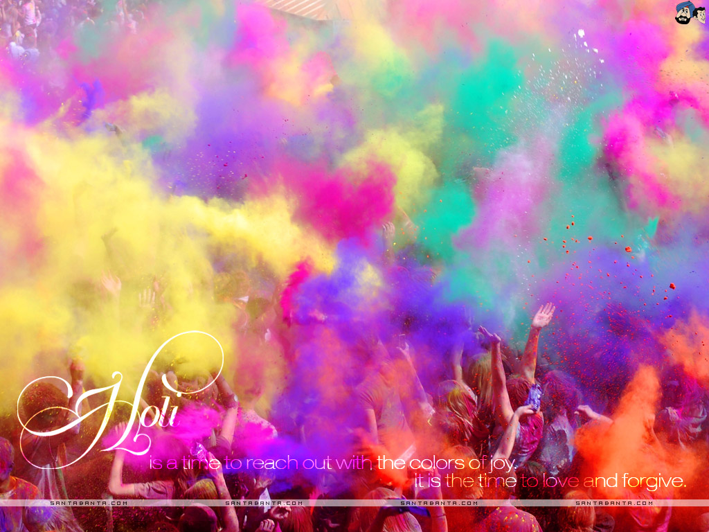 Gallery For Holi Festival Wallpaper 1024x768