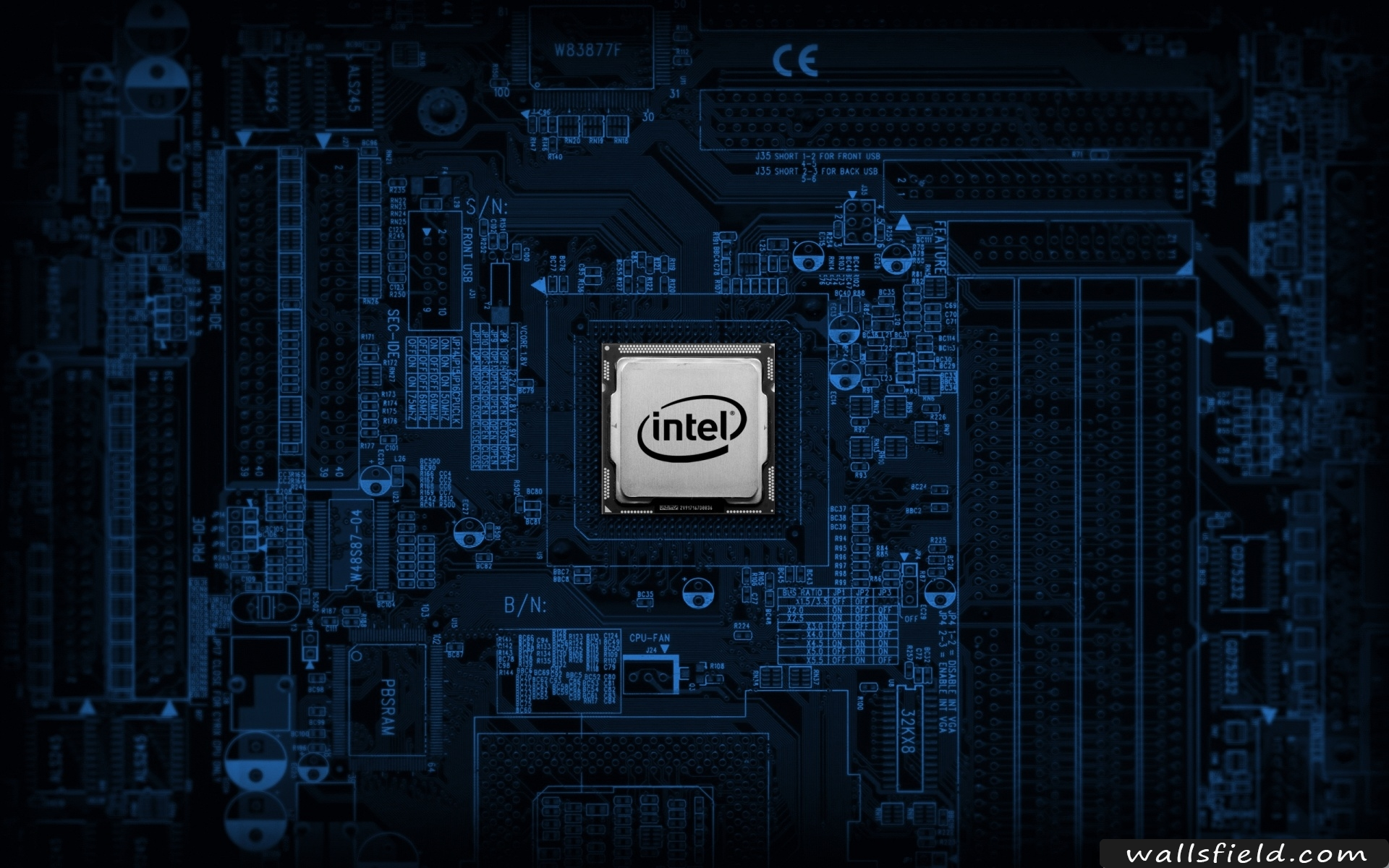 Intel Motherboard   Wallsfieldcom HD Wallpapers 1920x1200