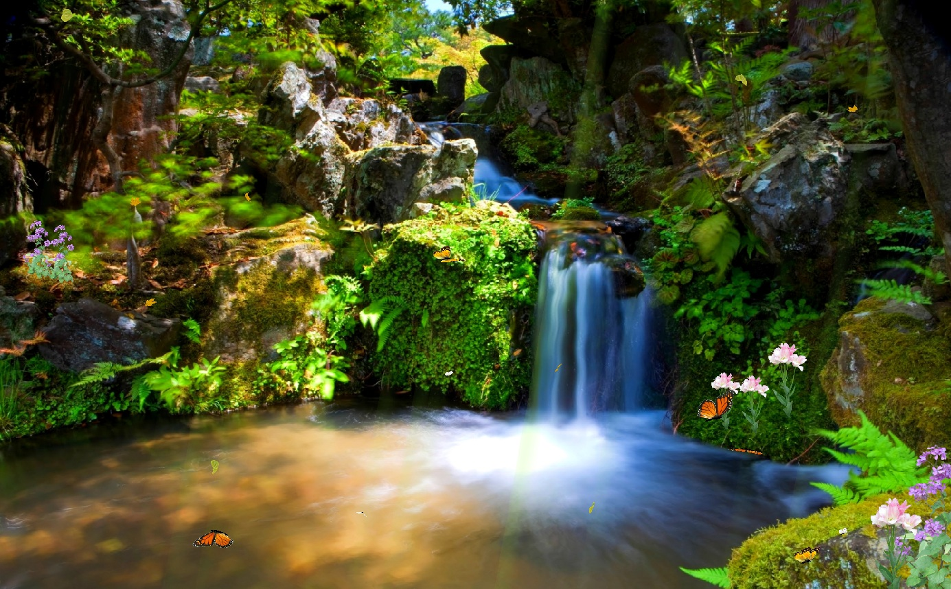 animated wallpaper just paradise screensaver animated wallpaper 1385x858. Download ...