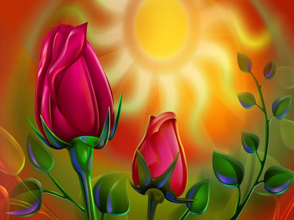 Flower mobile phone wallpapers hd phone wallpapers - Free Wallpaper Roses 3d Background Wallpapersafari