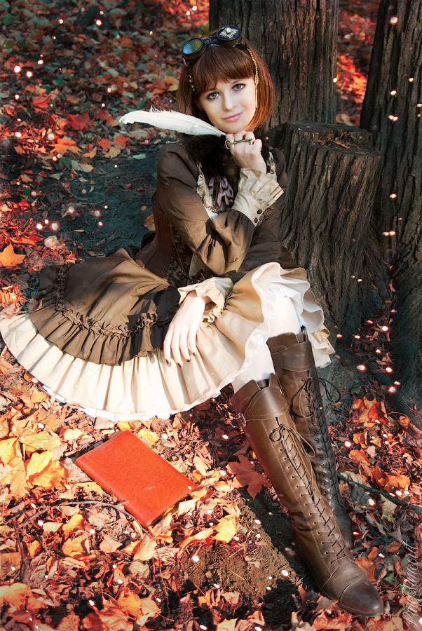 Steampunk Doll ~ Autumn by Ping.Timeout