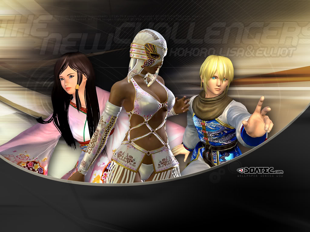 DOA   Dead or Alive Wallpaper 24813660 1024x768