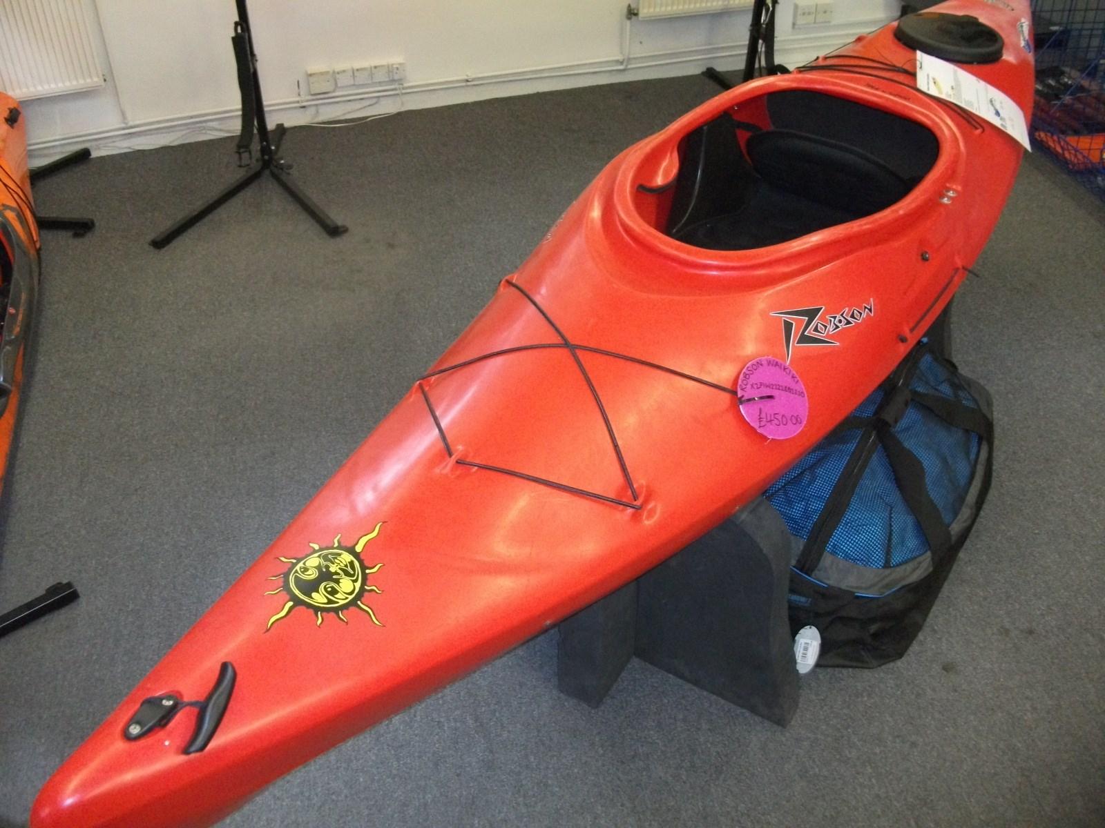 Second Hand Robson Waikiki Kayak in Red 45000 1600x1200