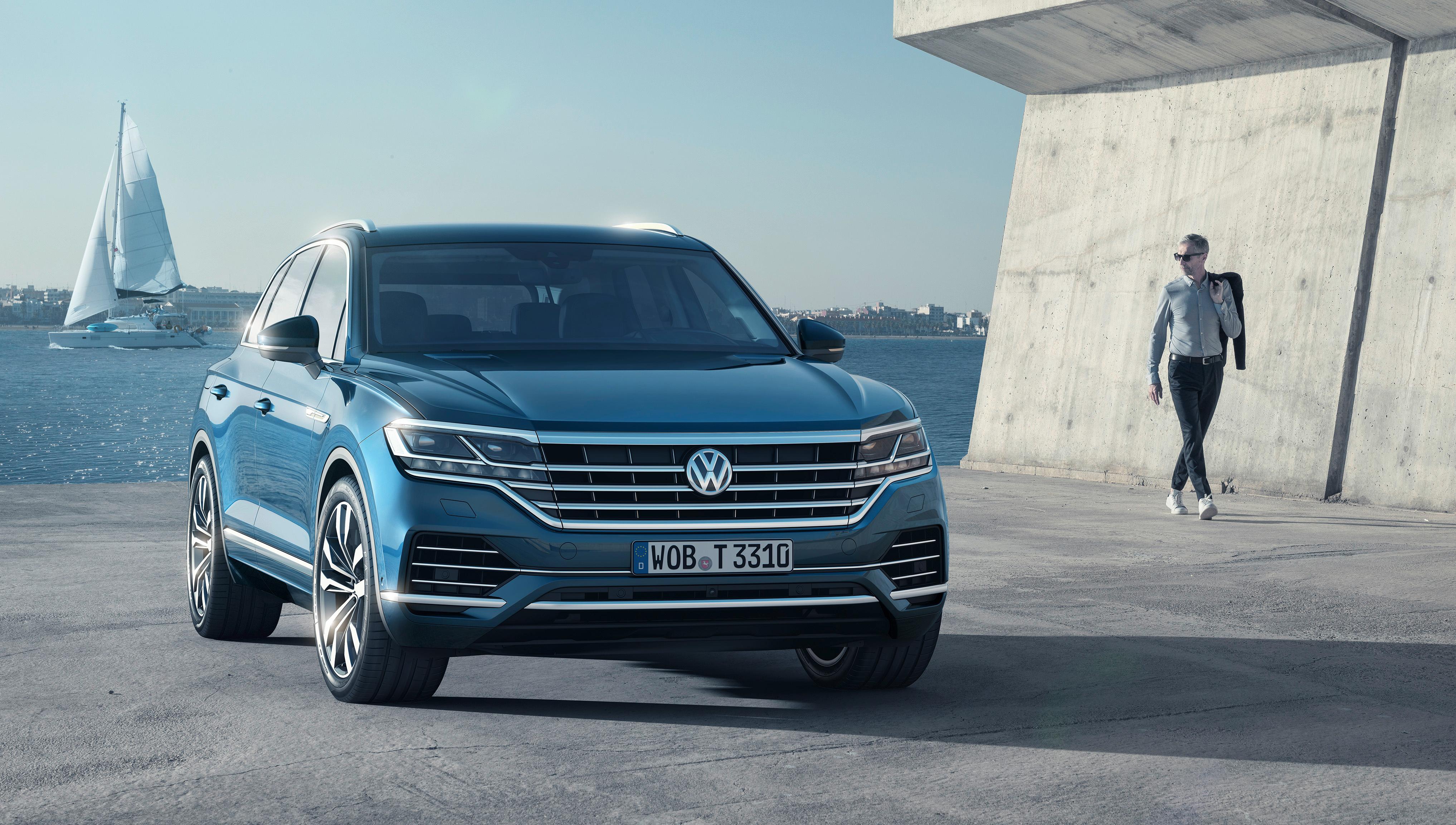 2018 Volkswagen Touareg V6 TDi 4K Wallpaper HD Car Wallpapers 4069x2304