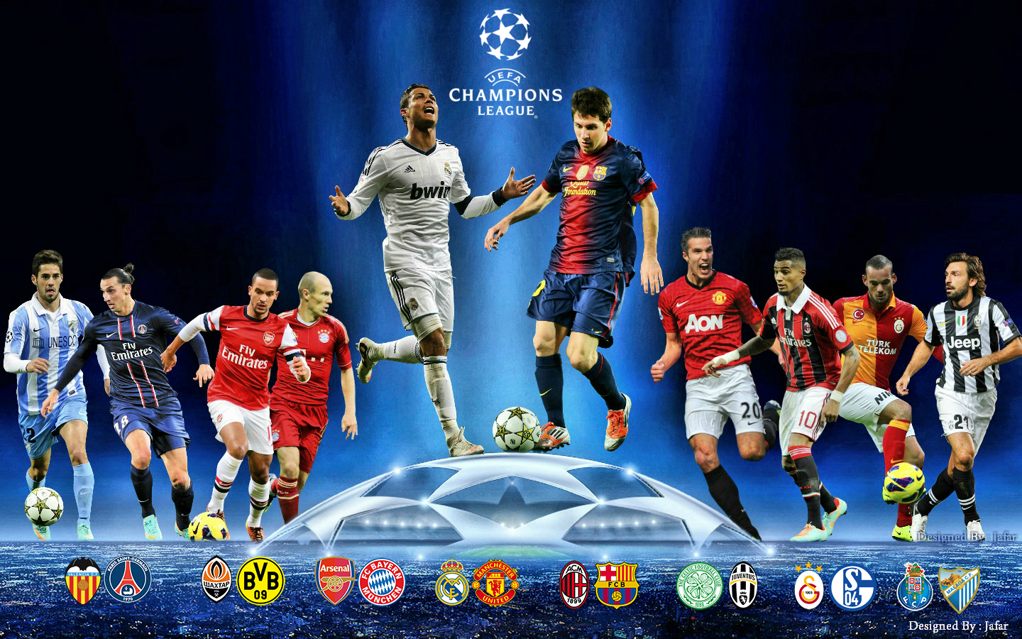 UEFA Champions League: UEFA Champions League Wallpaper HD