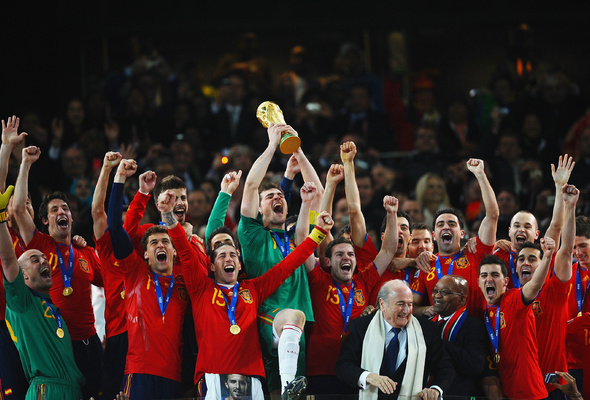 Wallpaper football fifa world cup la roja spain 590x400