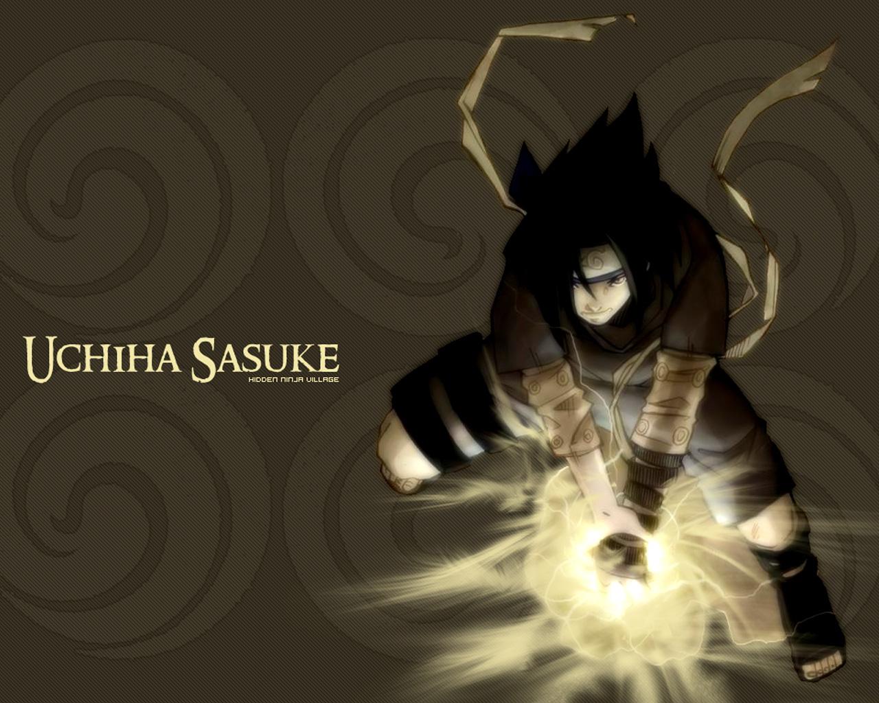 10uchiha sasuke pics wallpaperhtml With the title Uchiha Sasuke 1280x1024