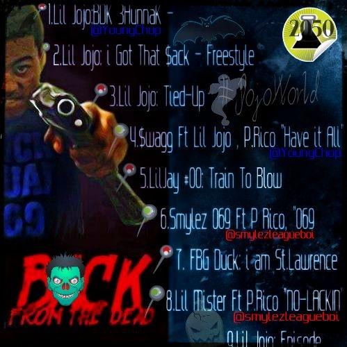 JoJo BDK   BackfromtheDead Hosted by DJ 2050wattz Mixtape 499x500