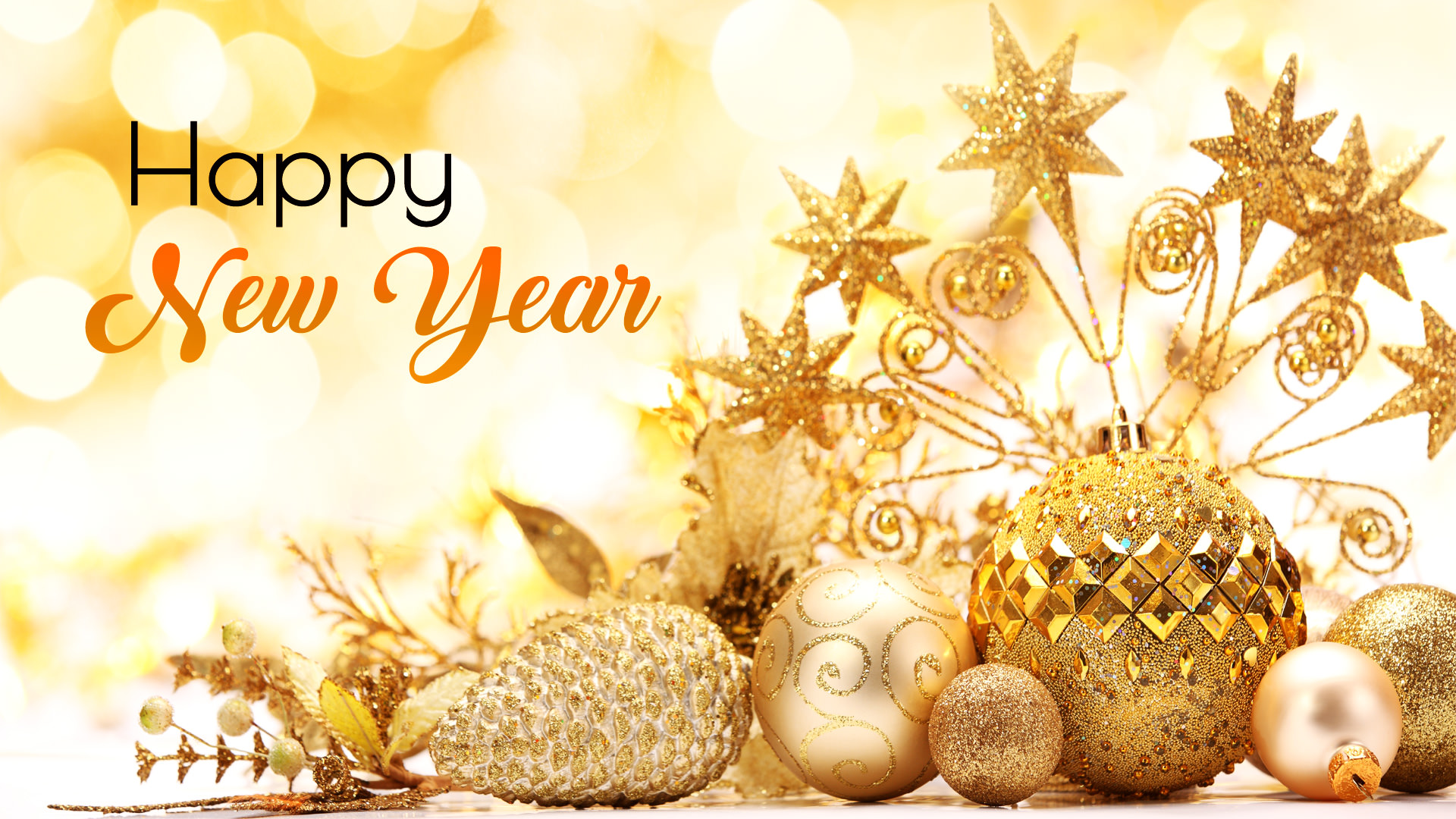 Special Happy New Year 2018 Wallpaper HD Greetings 1920x1080