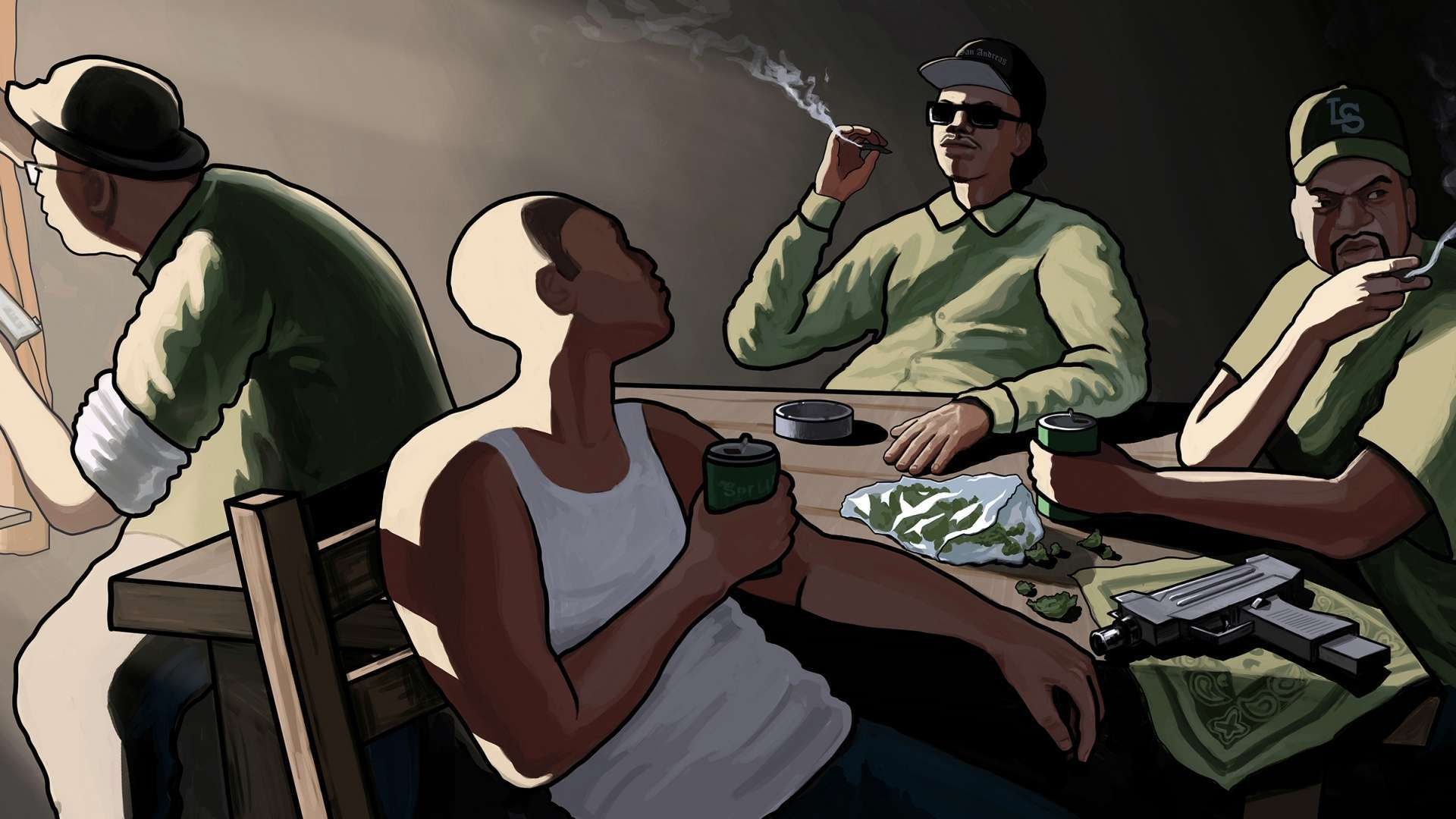 gtasanandreas Wallpaper Grand Theft Auto San Andreas Hd 1920x1080