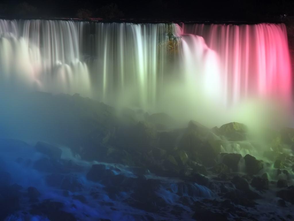 Backgrounds   desktop wallpaper Niagara Falls Creative Commons 1024x768