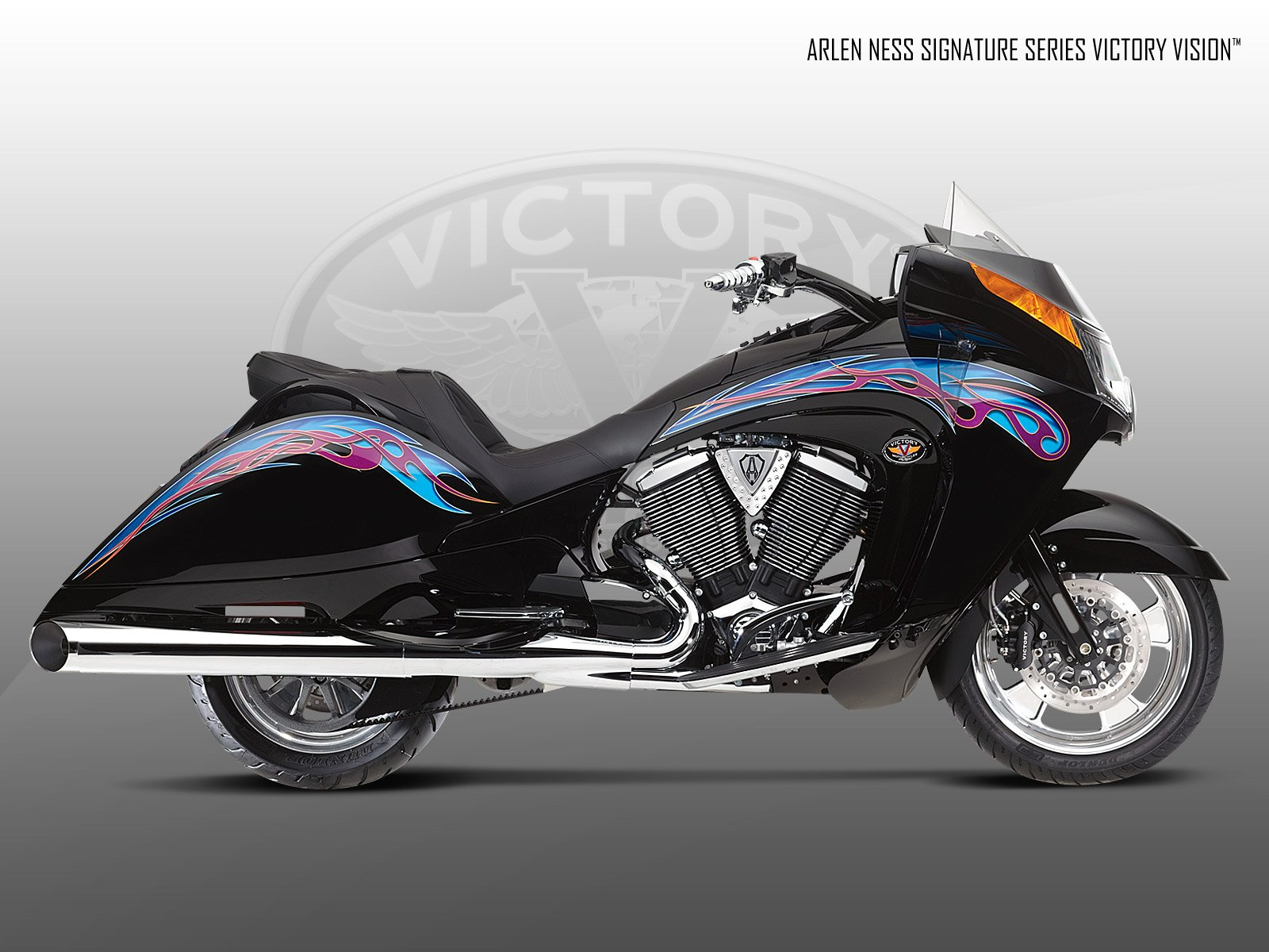 2009 Victory Arlen Ness Victory Vision Wallpaper 1600x1200