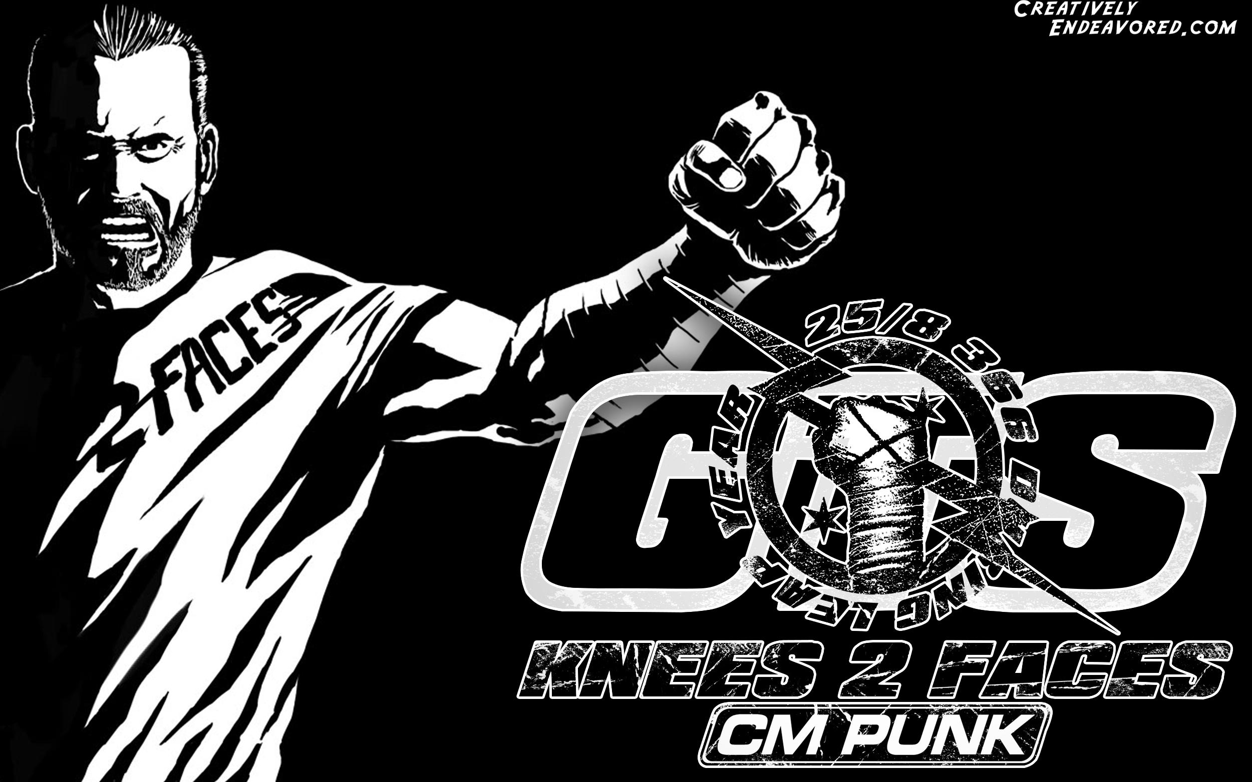 Wallpaper Wednesday CM Punk Its Clobberin Time 2500x1563