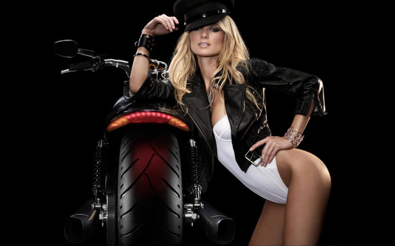Harley Davidson Girls for Pinterest 1440x900
