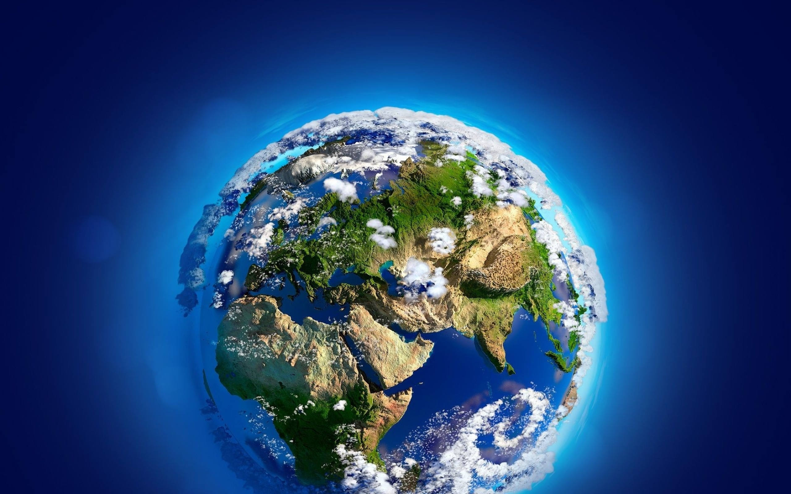 Wallpapers Download 2560x1600 planets earth 3d Wallpaper 2560x1600