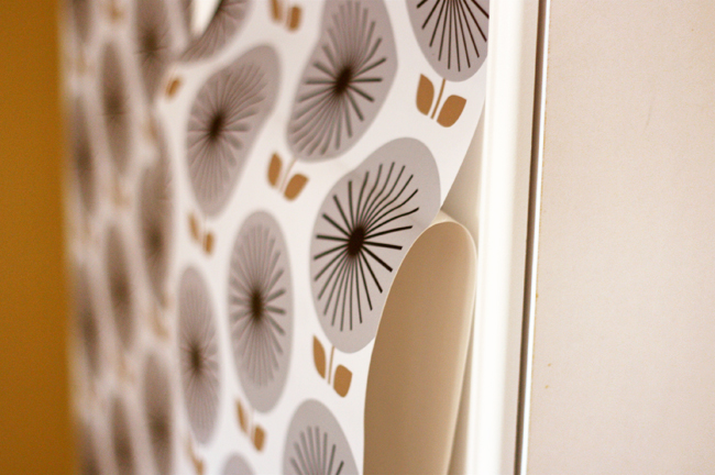 Removable wallpaper from Chasing Paper How About Orange 650x432
