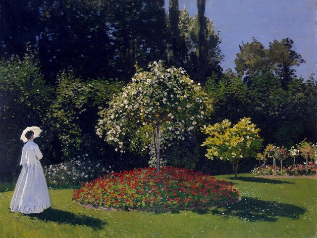painting claude monet paintings hd wallpapers claude monet painting 640x480