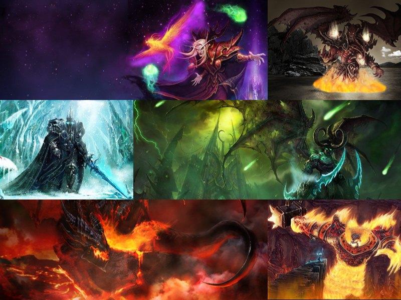 Download Torrent WoW Villains Screensaver   Animated Wallpaper 1337x 800x600
