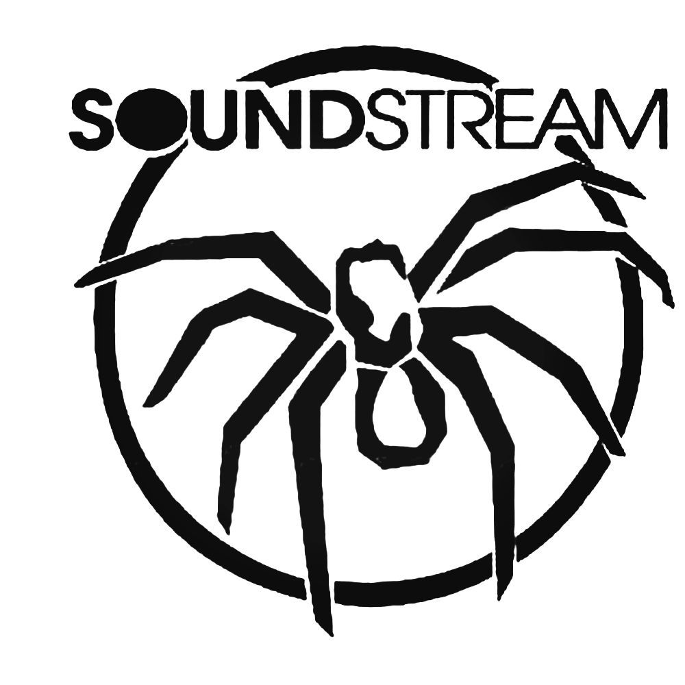 Soundstream Tarantula Audio Decal Sticker BallzBeatz com Car 1000x1000