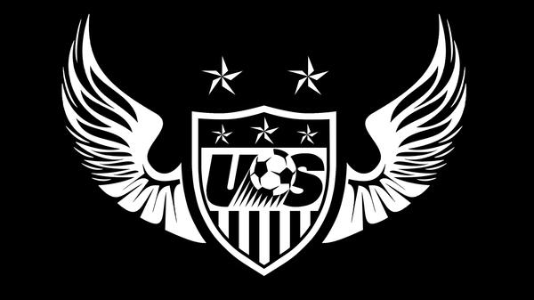 Soccer Logo Black and White 600x337