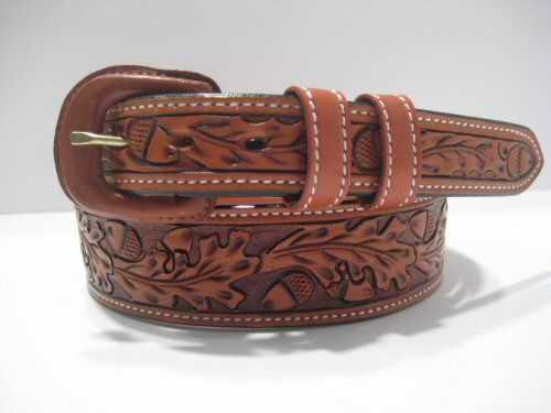 vogt hand tooled leather belt our beautifully crafted tooled belt 500x375