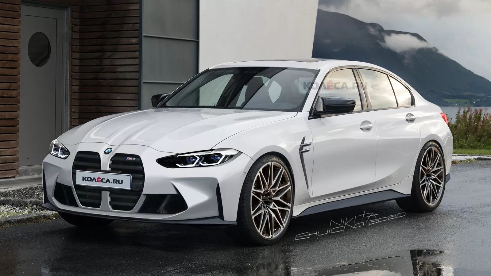 Like It Or Not The 2021 BMW M3 Sedan Will Look Something Like 1600x900