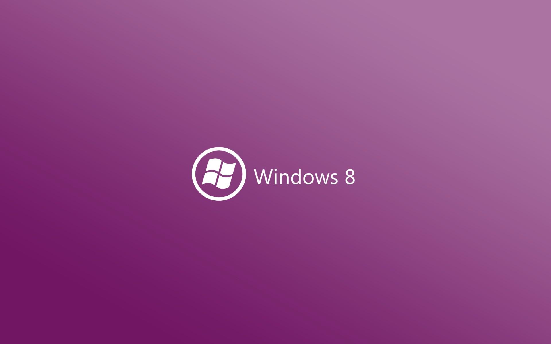Windows 8 Wallpaper Logo on 10 Colors of Background Zon Saja 1920x1200