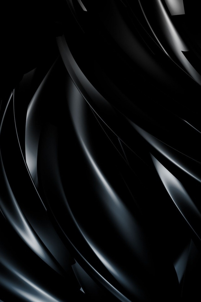 Black Waves iPhone HD Wallpaper iPhone HD Wallpaper download iPhone 640x960