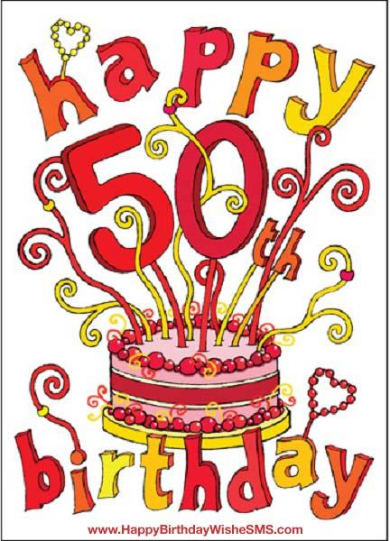 50Th Birthday Card Sayings gangcraftnet – Greeting Cards for 50th Birthday