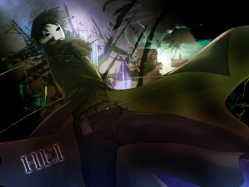 Darker Than Black Wallpaper Wallpapersafari