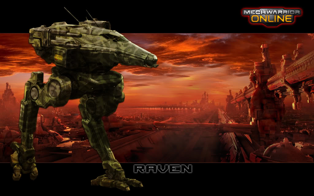 MWO Forums   Desk top wallpaper Raven 1024x640