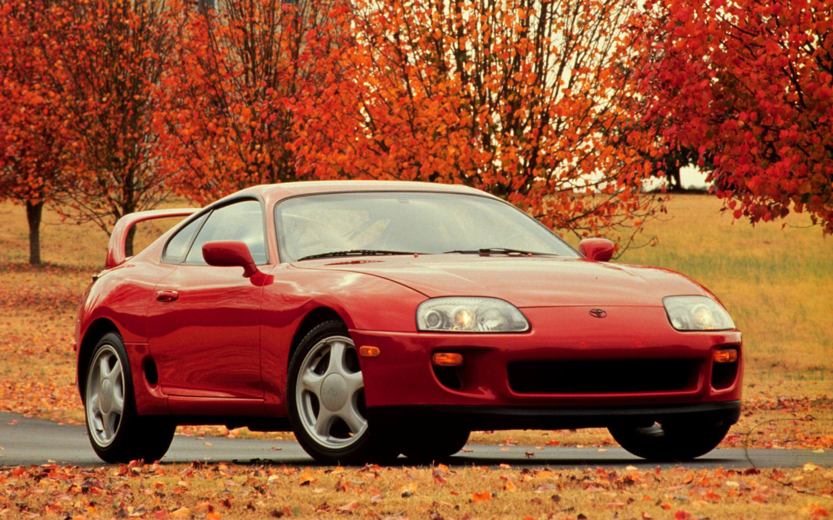 Toyota Supra Twin  Twinturbo Non Turbo 2JZ   Widescreen 1680x1050