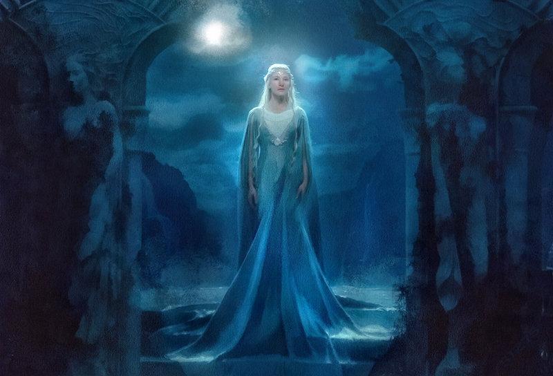 Galadriel Hobbit Wallpaper Galadriel by olga51275 800x544