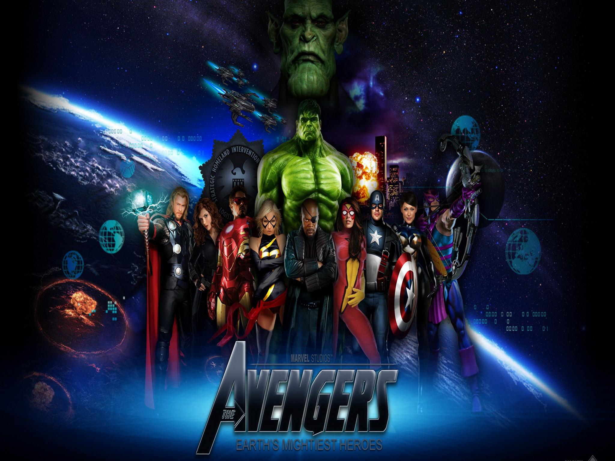 Avengers IPad Wallpaper