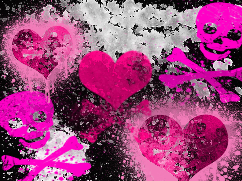 Girly Punk Backgrounds wallpaper Girly Punk Backgrounds hd wallpaper 1024x768