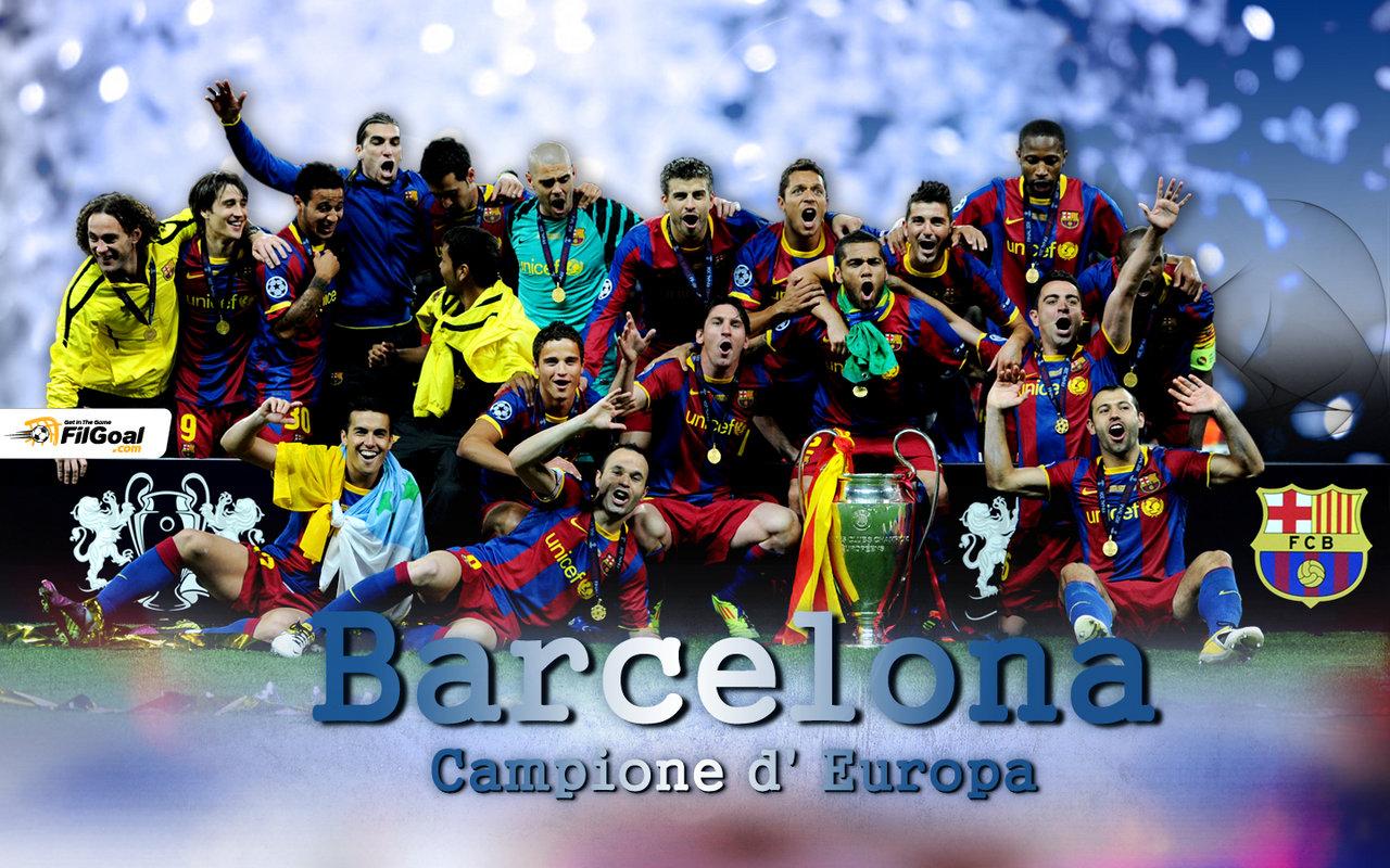 Barcelona Champions League Winner 2011 Wallpaper 1 1280x800