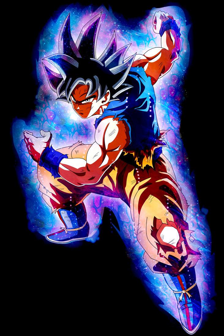 Goku   Ultra Instinct   Migatte no Gokui by XYelkiltroX on 731x1093