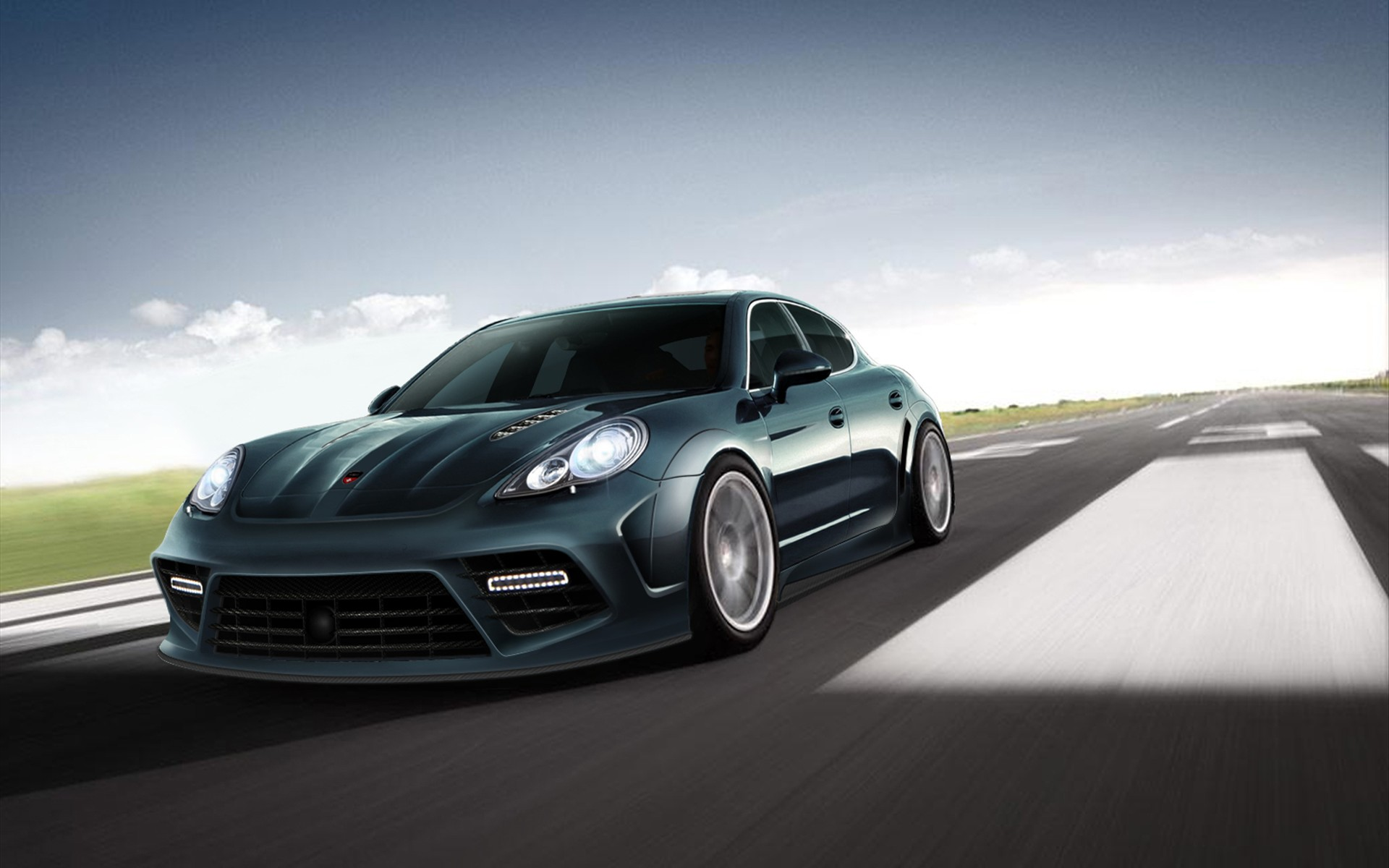 Mansory Porsche Panamera 2 Wallpaper HD Car Wallpapers 1920x1200