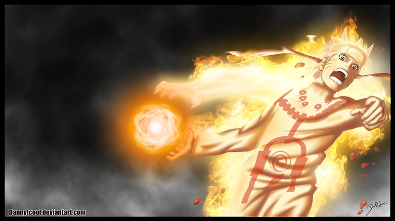 naruto rasengan naruto chakra mode bordered Anime Naruto HD Wallpaper 800x449