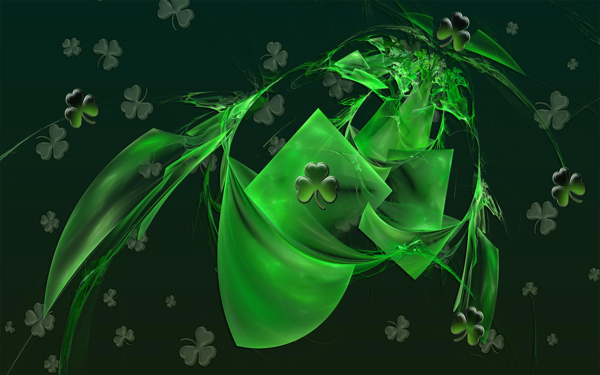 Saint Patricks Abstract