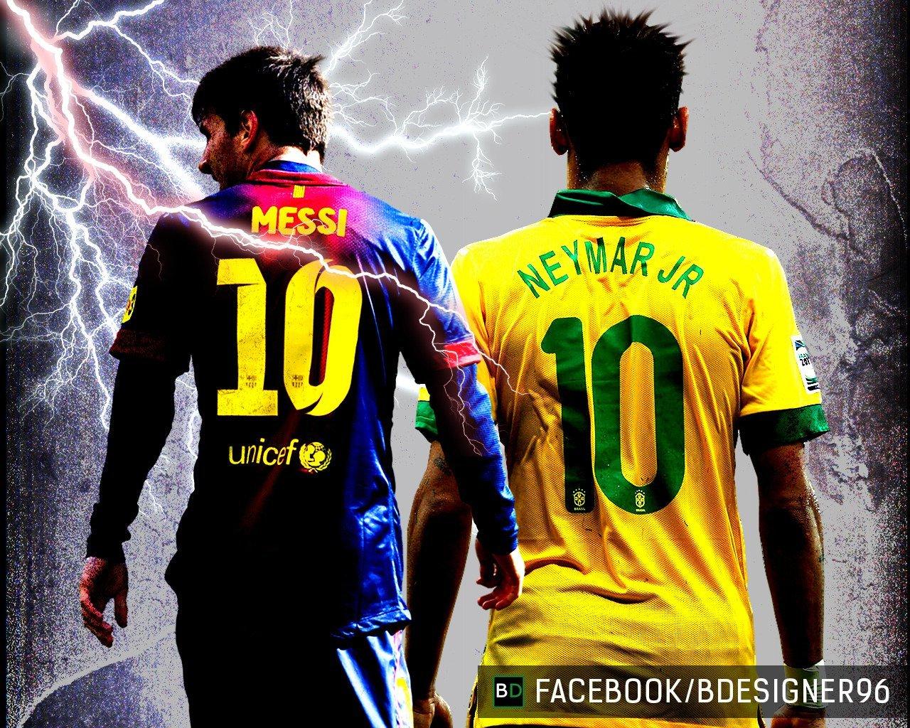IMG] Wallpaper Messi y Neymar   Taringa 1280x1024