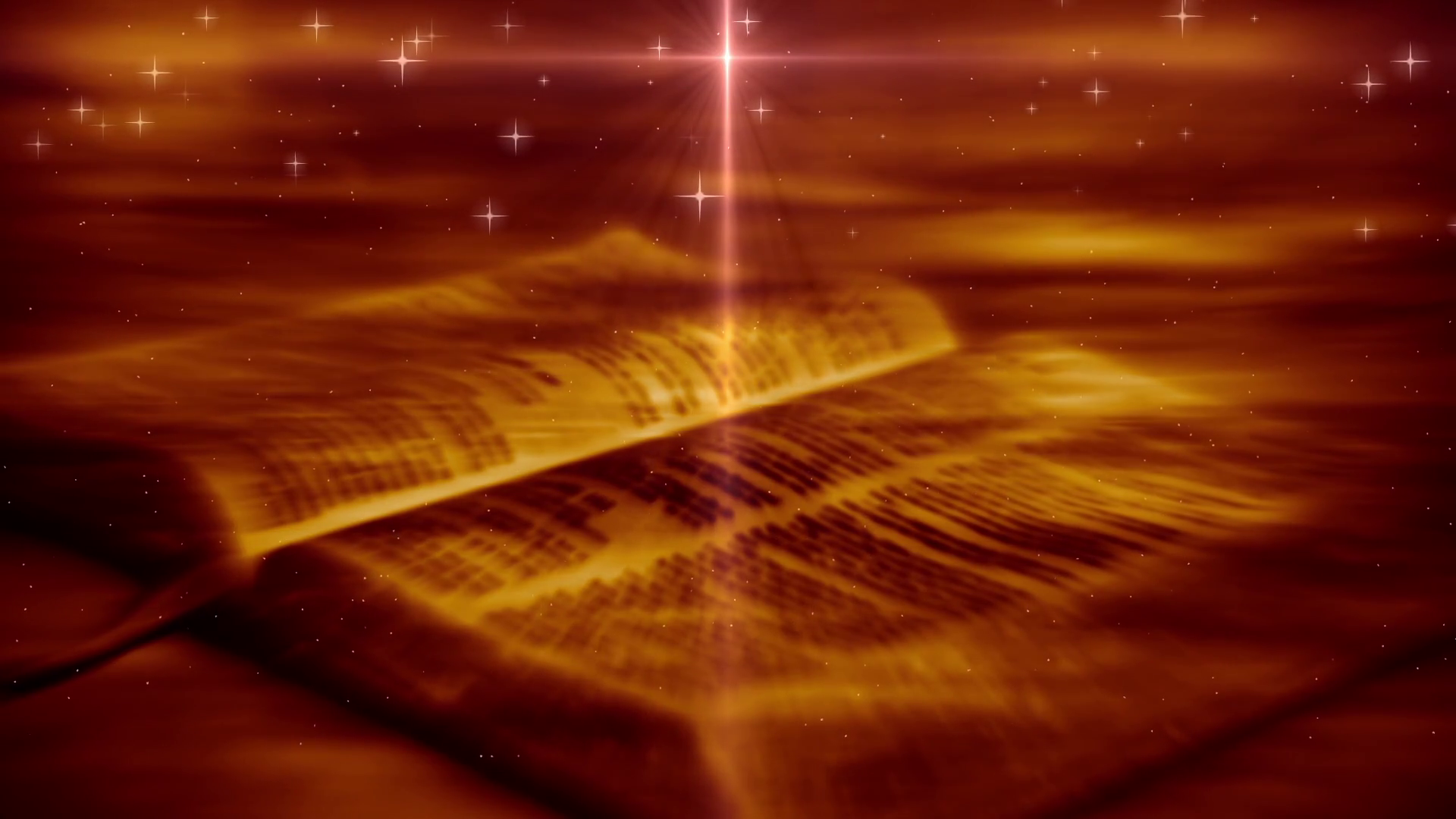 The Holy Bible Open Religious Scriptures Background Motion 1920x1080