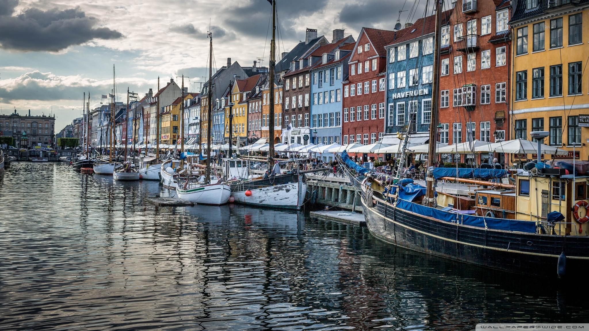 Copenhagen Denmark 4K HD Desktop Wallpaper for 4K Ultra HD TV 2048x1152