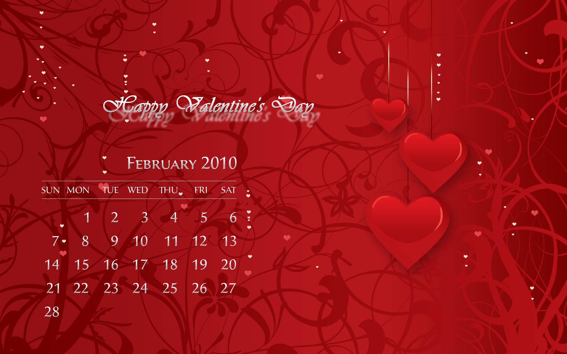 february calendar wallpaper desktop valentines articles happy 1920x1200