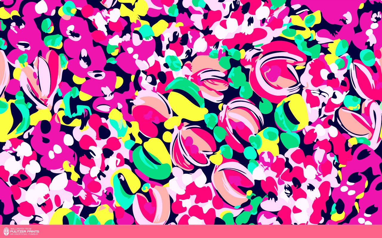 monogram lilly pulitzer desktop wallpaper