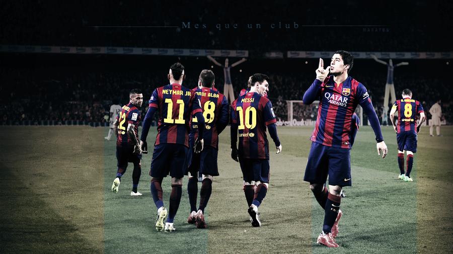 FC Barcelona 2015 wallpaper by MaRaYu9 900x506