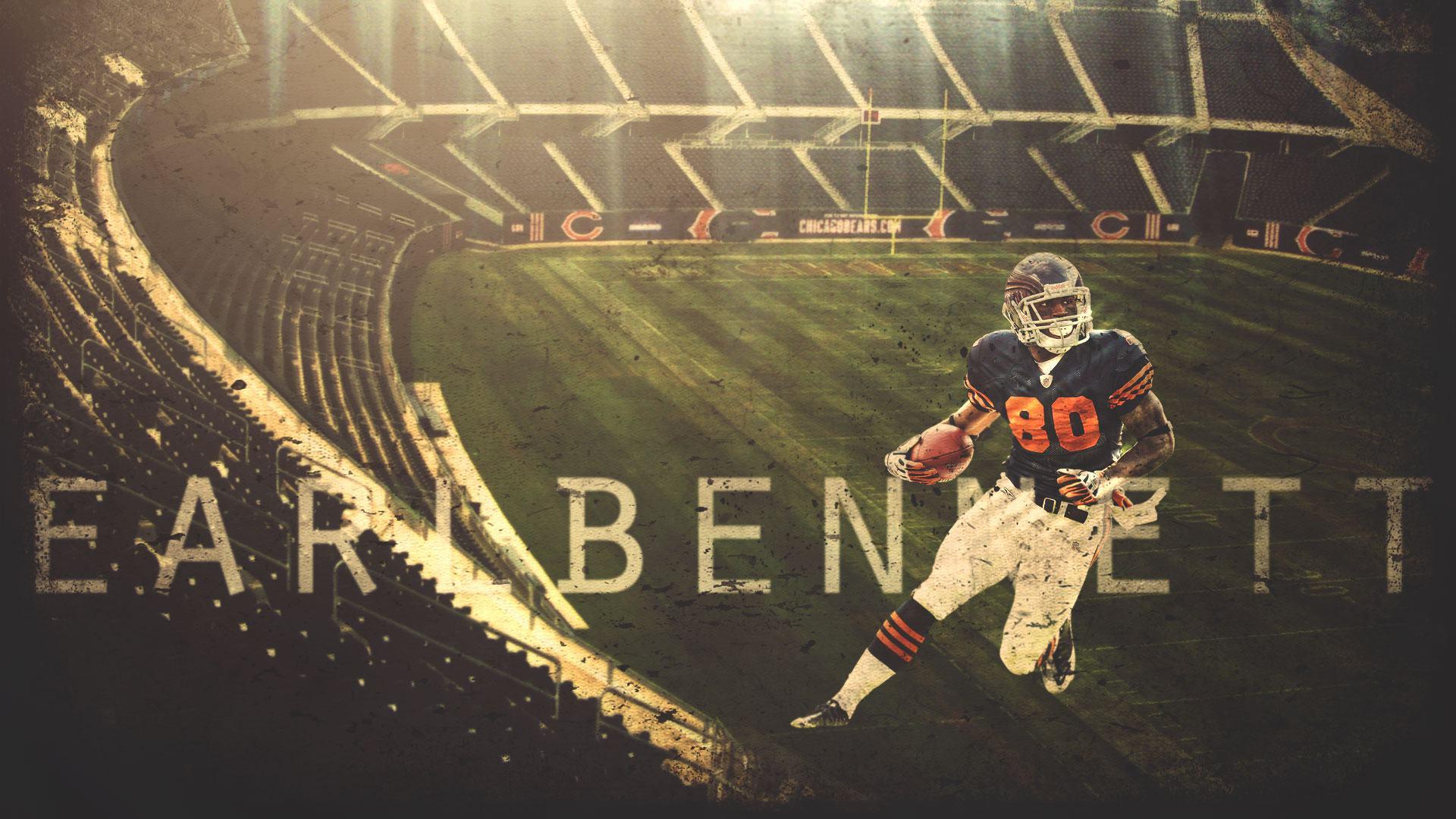 2737 Earl Bennett Chicago Bears 1920x1080 wallpaper 1920x1080jpg 1920x1080