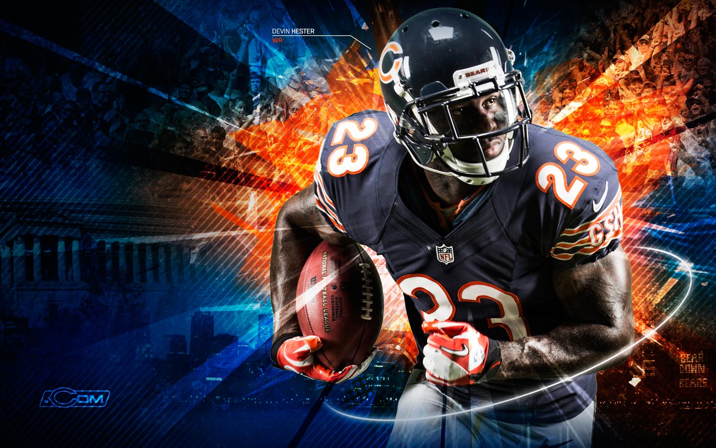 Chicago Bears Nfl Player Wallpaper   1440x900 iWallHD   Wallpaper HD 1440x900