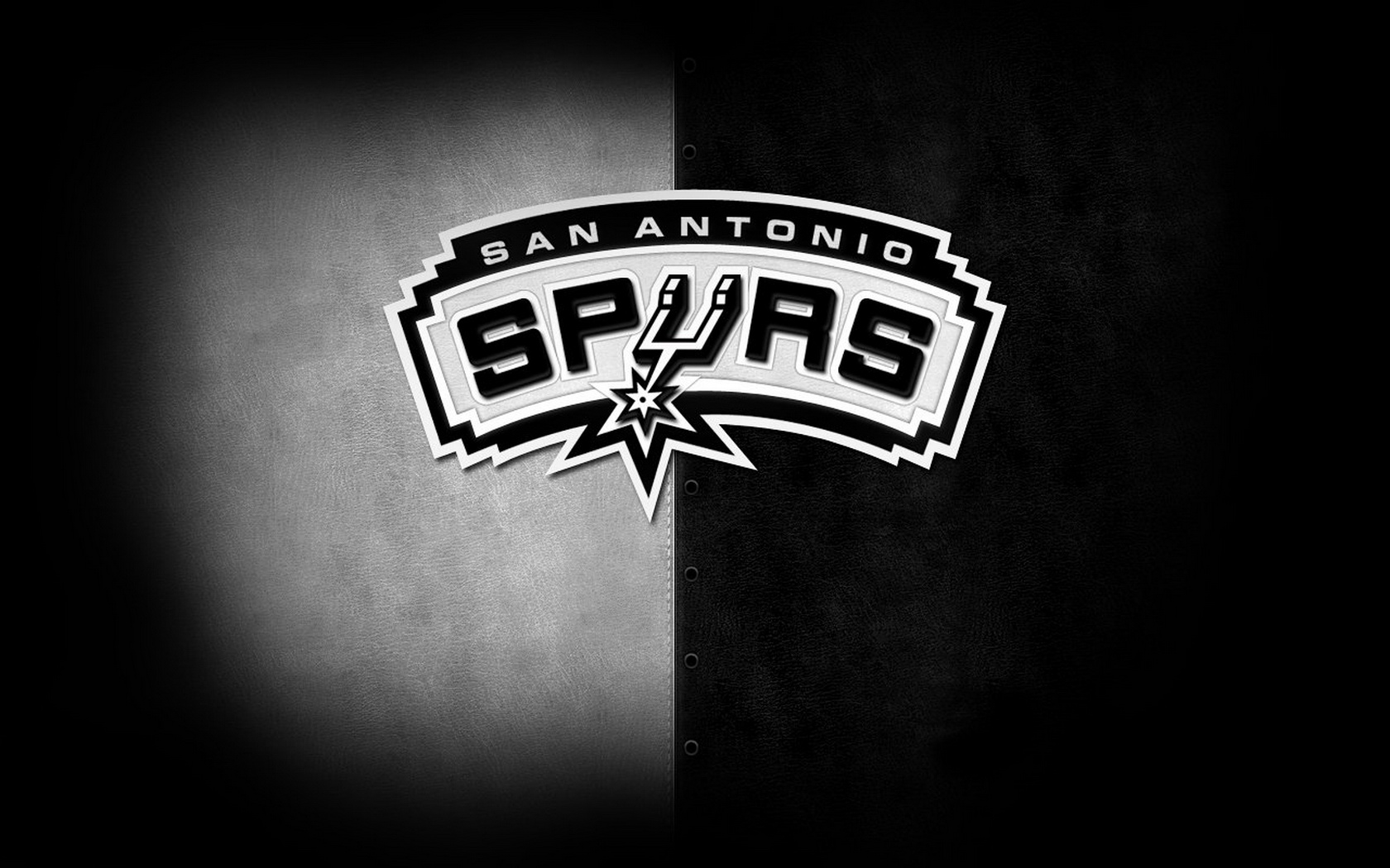 Fotos San Antonio Spurs Logo Wide Hd Wallpaper 5080 1680x1050